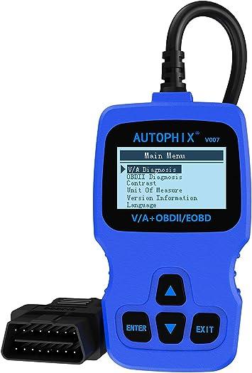 Autophix V007 Obd Ii Diagnosegerät Fehlercode Lesegerät Auto