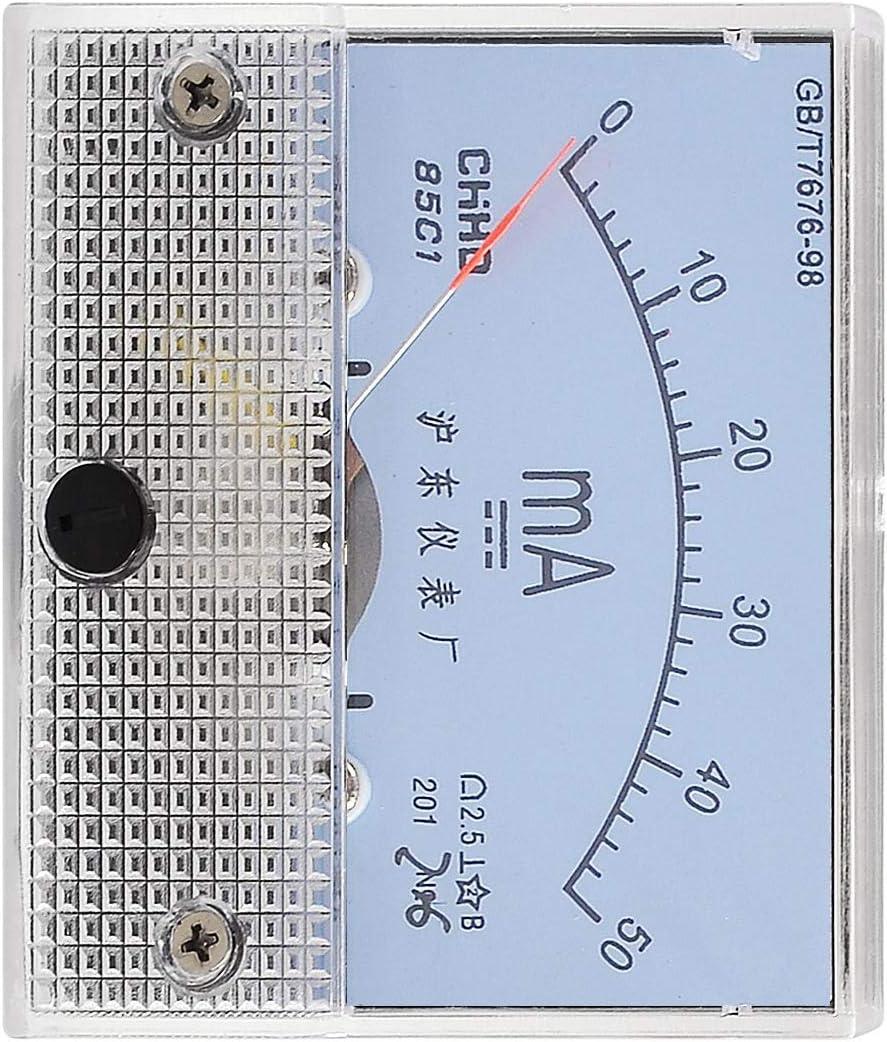 Aexit Classe 2.5 pr/écision DC 0-50MA-Gamme Milli amp/èrem/ètre Panneau 617T868