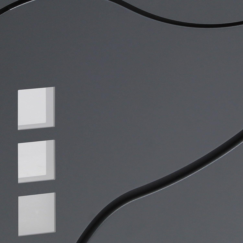 Moderner Design Briefkasten V28 Anthrazit Wandbriefkasten pulverbeschichtet Zeitungsrolle