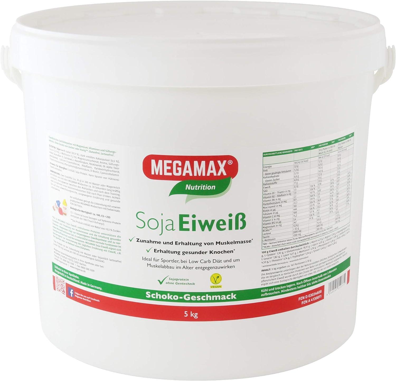 MEGAMAX - Soja Eiweiss - Proteínas de soja - Crecimiento ...