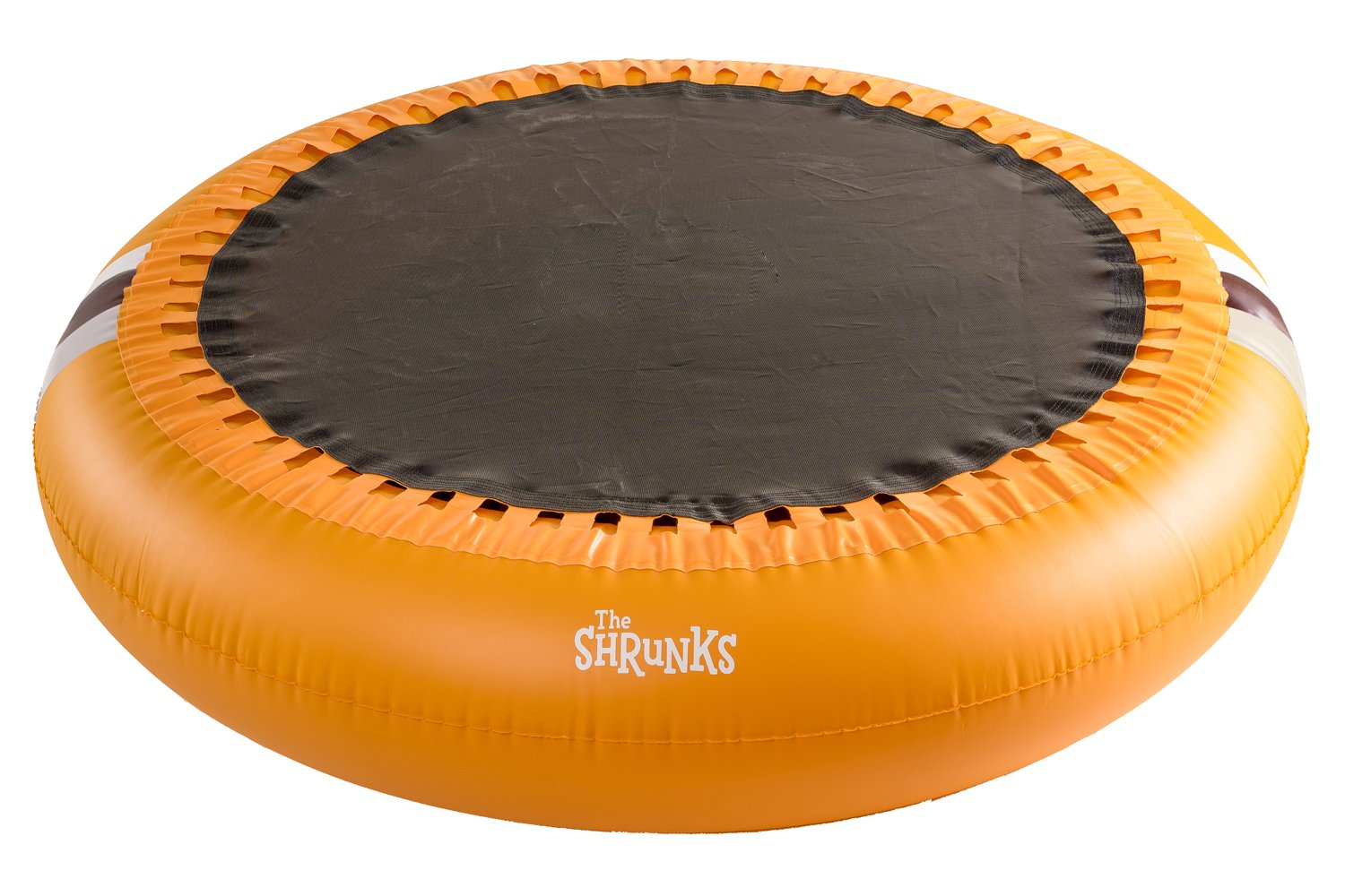 The Shrunks Inflatable 2-in-1 Safety Bouncer Pool Portable Indoor or Outdoor Use with ''SOFT'' bounce for Toddlers Safety, Orange, 72 x 72 inches