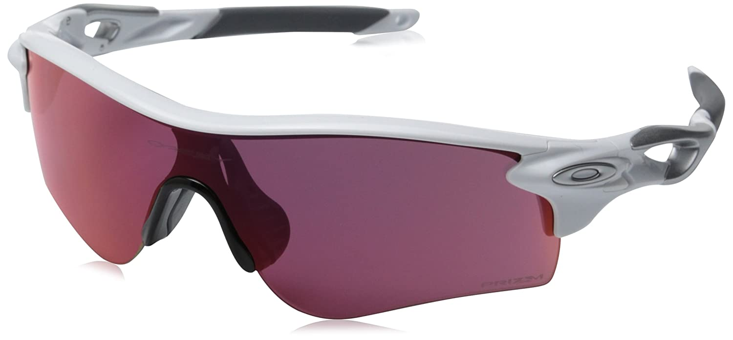 Amazon.com: Oakley Men's Radarlock Path OO9181-33 Shield Sunglasses,  Polished White, 132 mm: Clothing