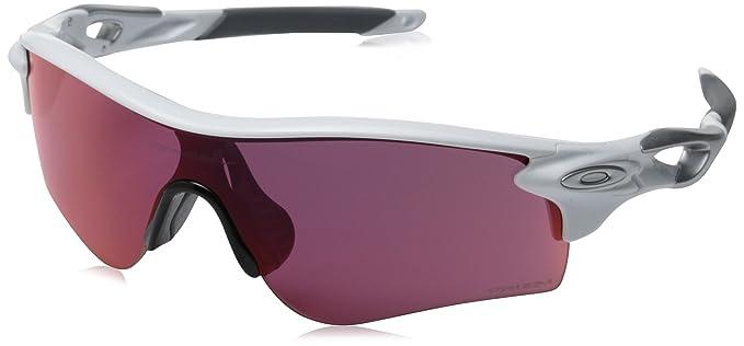 7b23ecc0db Amazon.com  Oakley Men s Radarlock Path OO9181-33 Shield Sunglasses ...