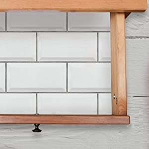 RoomMates Subway Tile Peel And Stick Giant Wall Decals