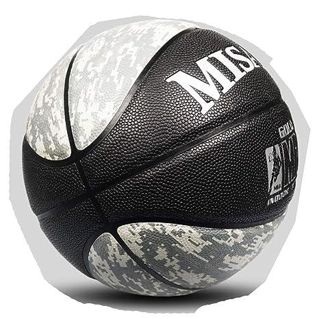 BS-Basket-6 7# Fleece Microfibra Baloncesto Cuero Piel de Vaca ...