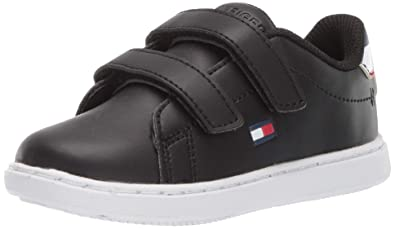 fff610a4 Image Unavailable. Image not available for. Color: Tommy Hilfiger Baby Kids'  Iconic Court ALT Sneaker ...