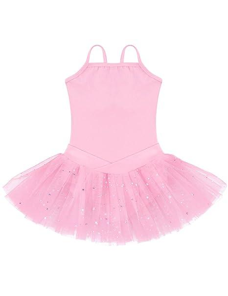 ephex Niños Vestidos balett niña con vestido de gasa balett Traje ...