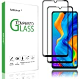 (2 Pack) Beukei for Huawei P30 Lite Screen Protector Tempered Glass,Full Screen Coverage, Anti Scratch, Bubble Free