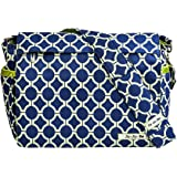 JuJuBe Better Be Messenger Diaper Bag, Classic Collection - Royal Envy