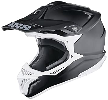 IXS HX 179 Cross Casco de motocross Tri Composite – Negro Mate