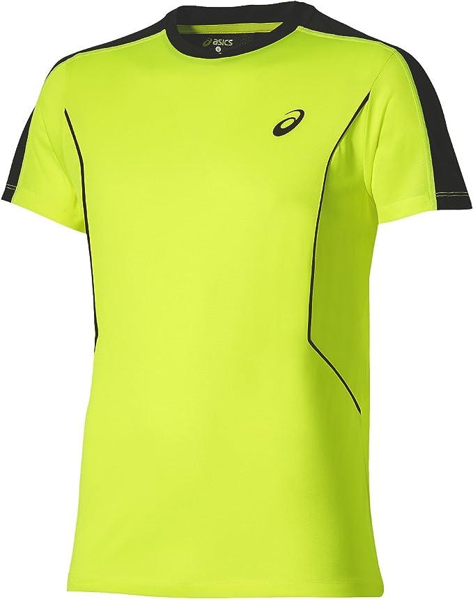 ASICS - Camiseta de Hombre Padel SS: Amazon.es: Deportes y aire libre