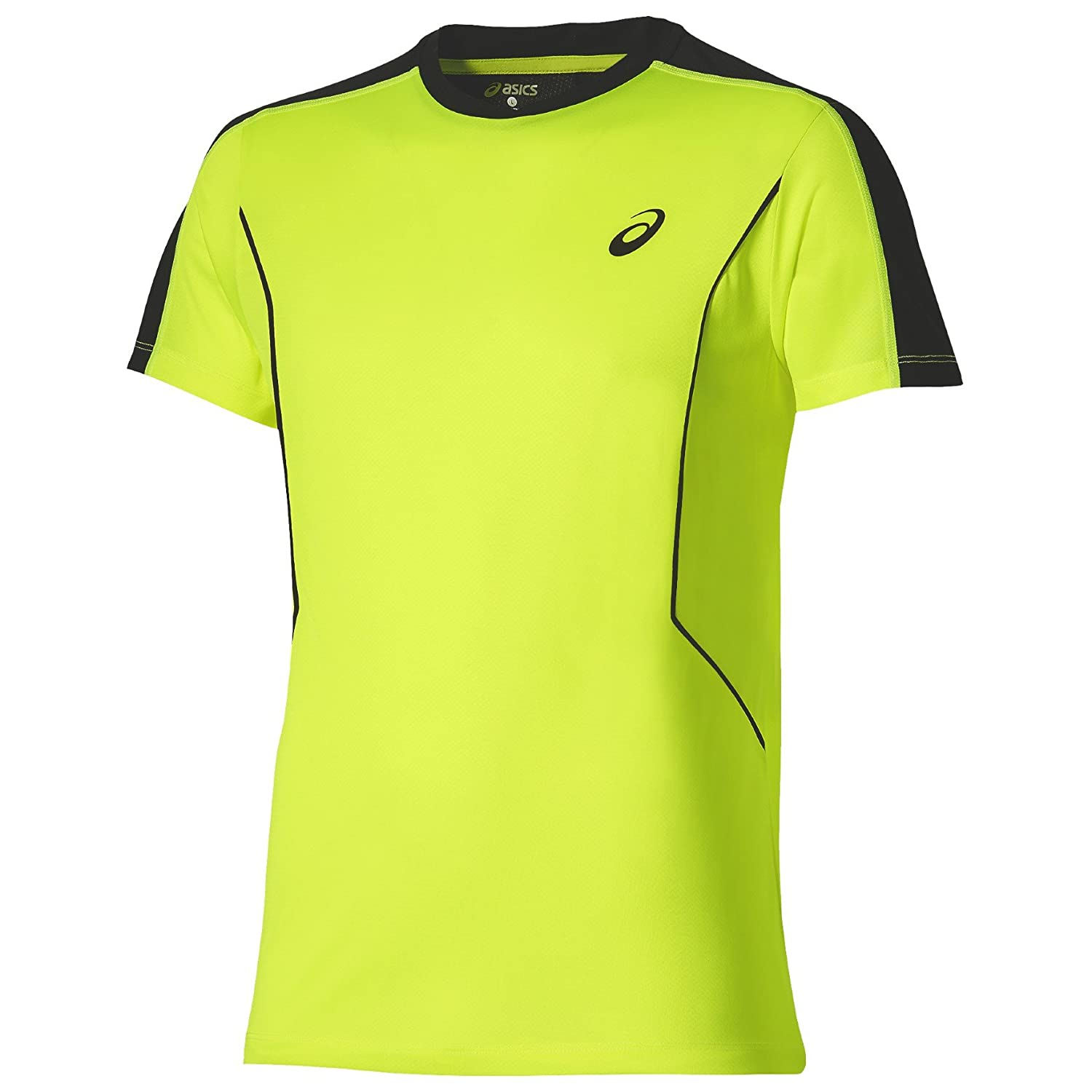 ASICS - Padel Top SS, Color Safety Yellow, Talla S: Amazon ...