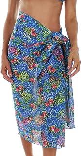 product image for Tan Through Blue Fiji Pareo