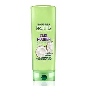 Garnier Hair Care Fructis Triple Nutrition Curl Nourish Conditioner, 12 Flu