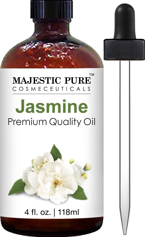 Majestic Pure Jasmine Oil, Premium Quality, Therapeutic Grade, 4 fl. oz.