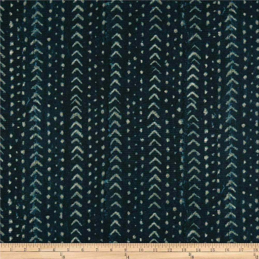 P Kaufmann Angola Mudcloth Basketweave Fabric, Midnight, Fabric By The Yard