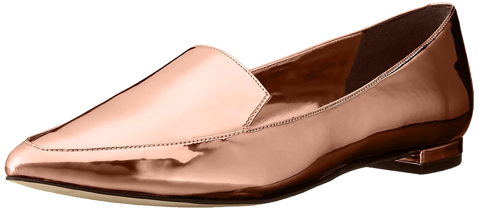 Nine West Women's Abay Patent Pointed Toe Flat US - 1