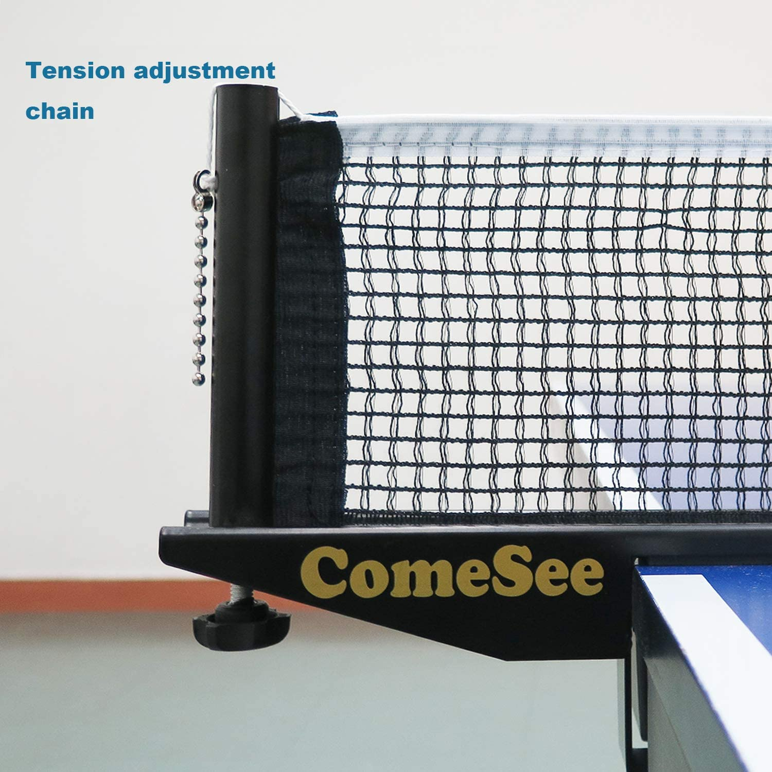 Profesional Table Tennis Net and Post Set ~ Quality Metal Clamps Spare Net