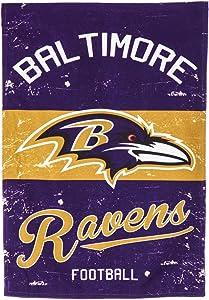 Team Sports America Baltimore Ravens Vintage Garden Flag - 13 x 18 Inches
