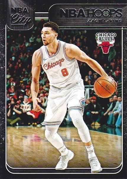 new concept 848b6 8d4bf 2018-19 NBA Hoops Basketball NBA City #NBA-29 Zach LaVine ...