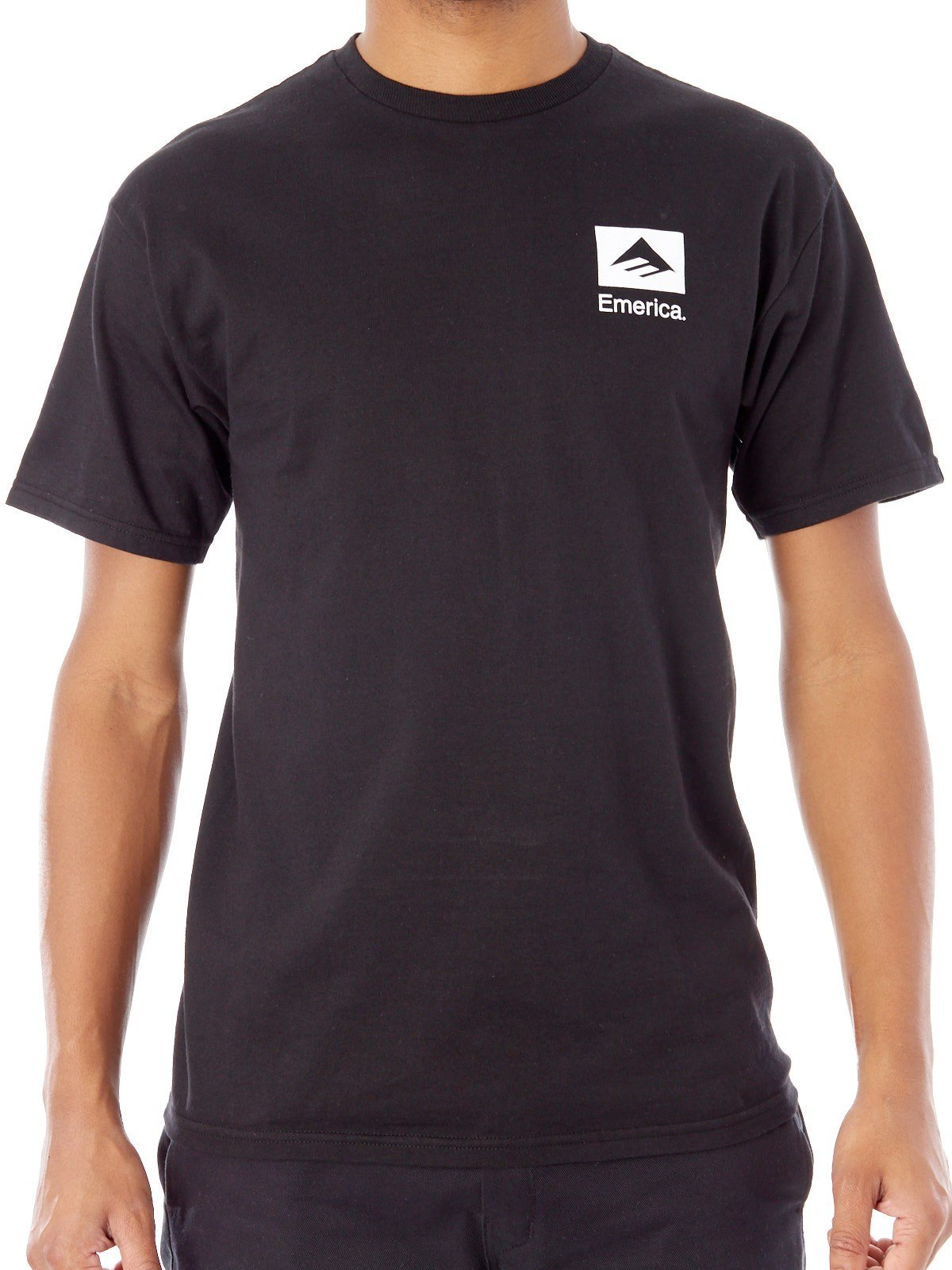 Emerica Mens Brand Combo Short Sleeve Shirts,Large,Black