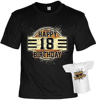 Geburtstag T Shirt 18 Jahre