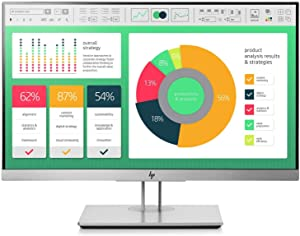 HP EliteDisplay E223 21.5-Inch Screen Led-Lit Monitor Gray (1FH45A8#ABA)