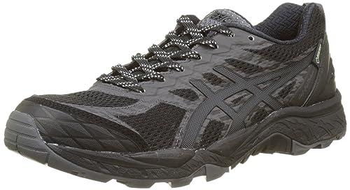 Asics Fujitrabuco 5 G Tx Scarpe Running Donna Nero Black/Dark Steel/Silver