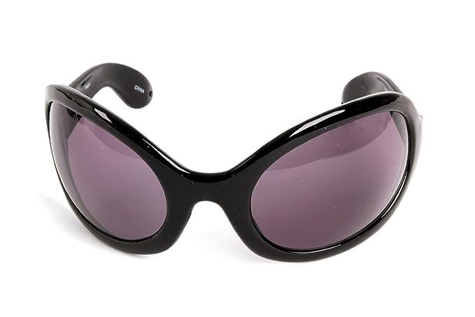 f004f4d2e7 Pop Fashionwear Unisex Color Bug Eye Sunglasses Retro Rave Shades P501 ( Black