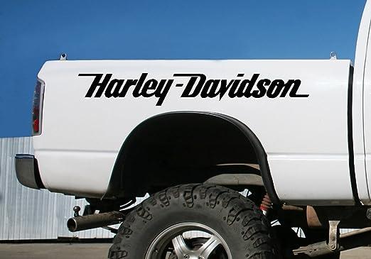 Harley Davidson Aufkleber M Amazon De Auto