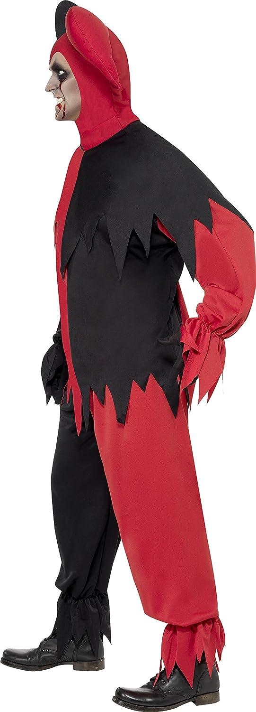 Amazon.com: Smiffys de los hombres oscuro disfraz de bufón ...