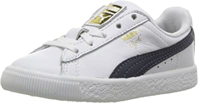 PUMA Baby Clyde Core Foil Sneaker