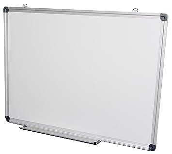 Pizarra blanca pluma magnética bandeja de aluminio ajuste 30 x 45cm