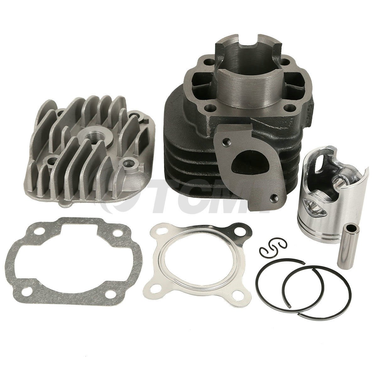 TCMT Cylinder Piston Top End Kit For Polaris Scrambler 50 01-03 Predator 50 04-07 ATV