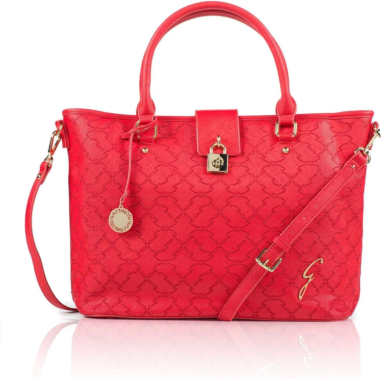 Gattinoni Women's Shoulder Bag red red: Amazon.co.uk: Shoes