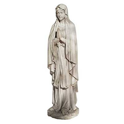 Design Toscano Life Size Blessed Virgin Mary Statue : Garden & Outdoor