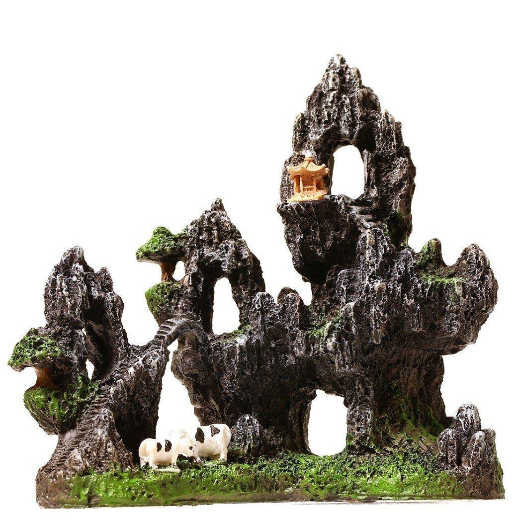 economico e di alta qualità Mountain View 16,00 (6,3 cm, cm, cm, 16 cm, per decorazione acquario, motivo  acquario bridg bovini Cave  trova il tuo preferito qui