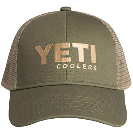 Amazon.com  YETI Traditional Trucker Hat Olive Green  Sports   Outdoors d2d00a668bc