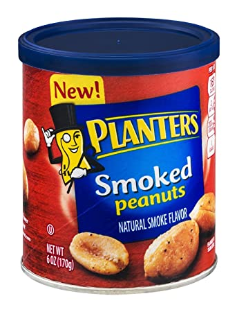 Amazon.com : Planters Smoked Peanuts 6 Oz (3 Count) : Grocery ... on smoked pineapple, smoked pork, smoked turkey, smoked tuna, smoked salt, smoked beef, smoked onions, smoked nuts, smoked bacon, smoked avocado, smoked eggs, smoked tomato, smoked almonds,