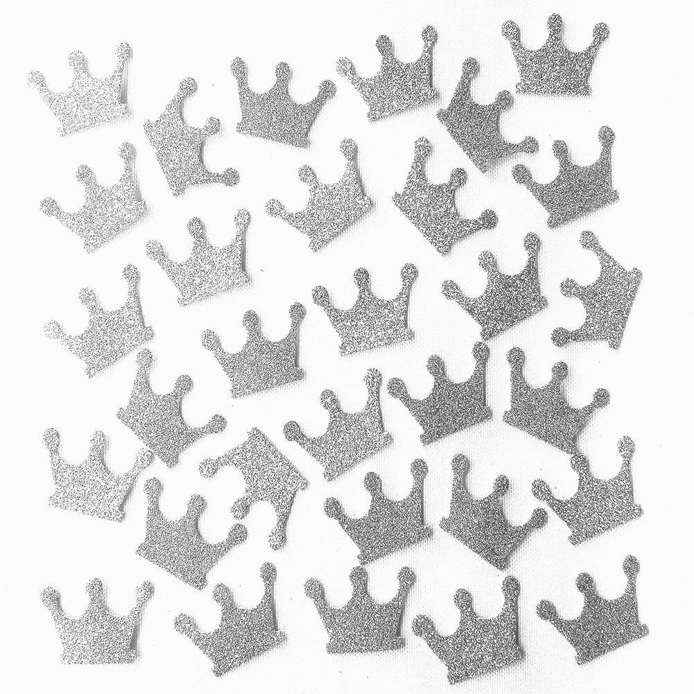 glitter gold,200pc MOWO Glitter Five Stars Paper Confetti 1.2/'/' in Diameter Wedding Party Decor and Table Decor