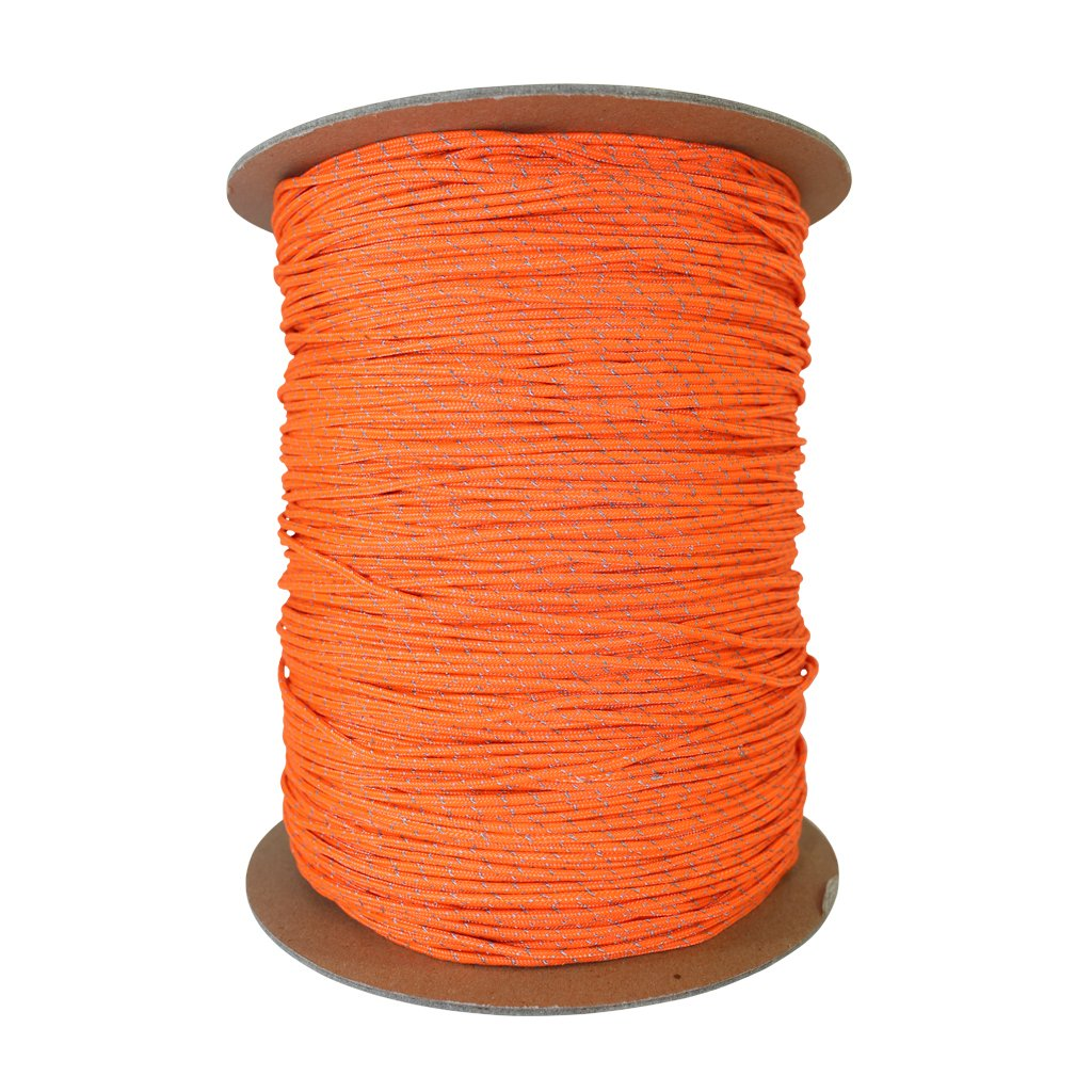 Spectra Core Polyester Cover Tie-Downs Boot Laces for Hammocks - Low-Stretch Hi-Visibility Accessory Rope SGT KNOTS Spectra Cord 25 ft - 100 ft More Camping 1.5 mm - 2.8 mm Survival