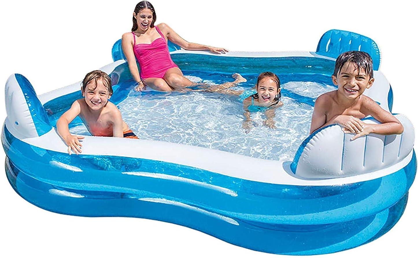 BEANDENG Piscina Hinchable Swim Center Piscina Familiar con ...