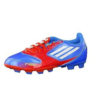 ae368a2ac06 Adidas Fussballschuhe F5 TRX FG J 38 2/3 Blau-rot: Amazon.de: Sport ...