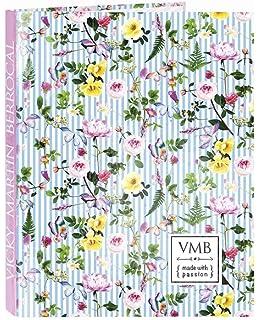 Vicky Martin Berrocal Garden - Carpeta con folios, 4 anillas, 265 x 330 mm