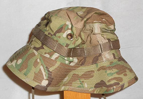 US ARMY ISSUE MULTICAM OCP BOONIE CAP BUSH HAT SUN HOT WEATHER - Camouflage  - 7bf593c0d71