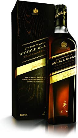 JOHNNIE WALKER whisky double black label botella 70 cl