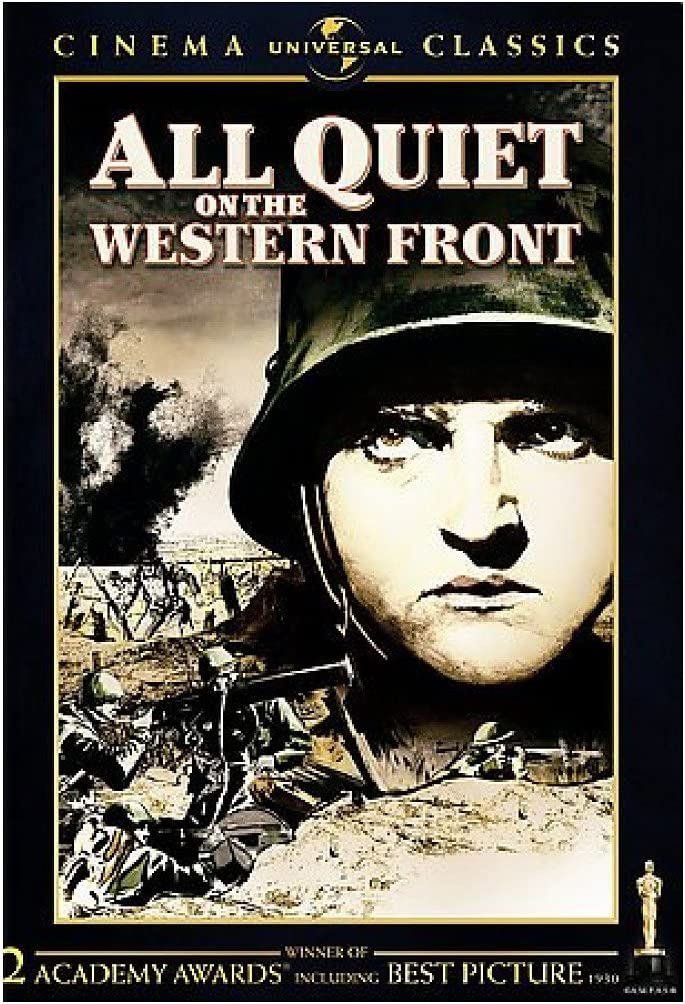 ALL QUIET ON THE WESTERN FRONT DVD DOL DIG 2.0ENG SDH