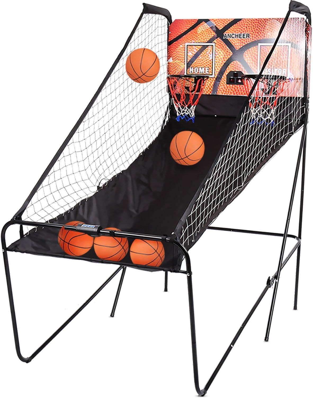Ancheer - Juego de baloncesto electrónico, arcade 8 en 1, 2 ...