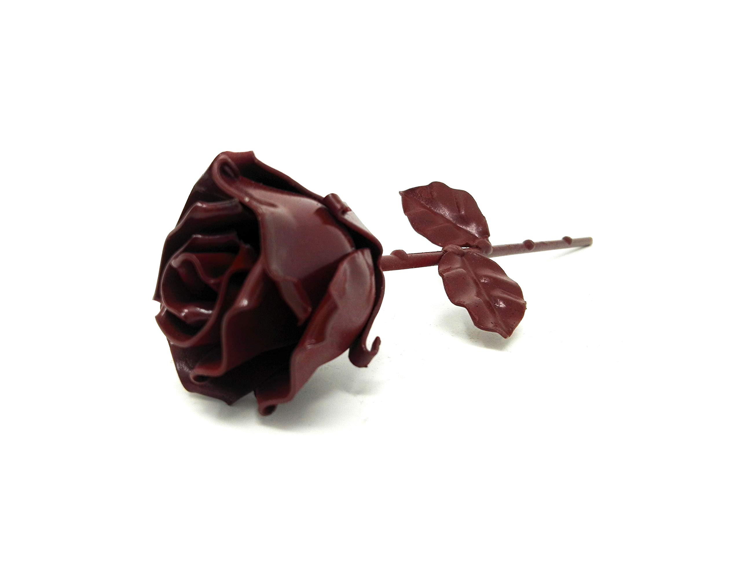 -Eternal-Rose-Hand-Forged-Wrought-Iron-RedIdeal-gift-Valentines-Day-Girlfriend-Mothers-Day-Couple-Birthday-Christmas-Wedding-Day-Anniversary-Gift-Decor-Indoor