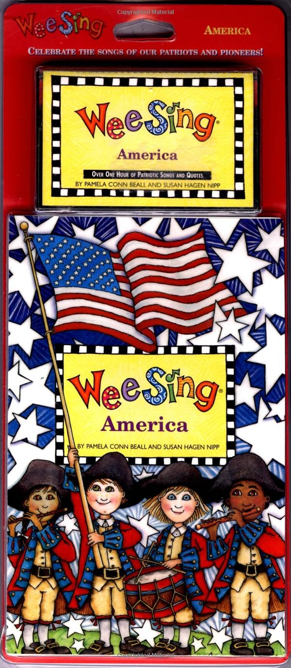 Wee Sing America book and cassette (reissue)
